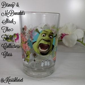 DreamWorks Shrek The 3rd McDonald Collector Glass